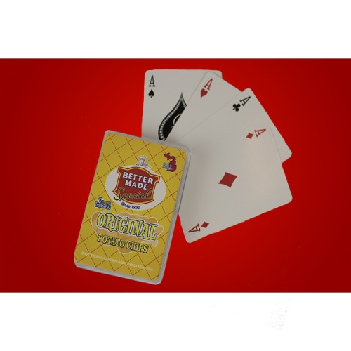 BETTER MADE PLAYING CARDS - YELLOW