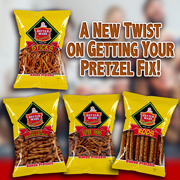 PRETZELS - CHOOSE 4 BAGS