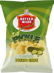 Dill Pickle Potato Chips