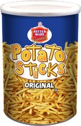 6 oz. Original Potato Stick Canister