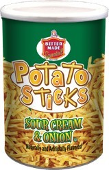 Sour Cream & Onion Potato Stick