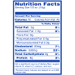 Seasoned Strips Cracklins Nutrition Facts