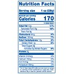 Jalapeno Cheddar Popcorn Nutrition Facts