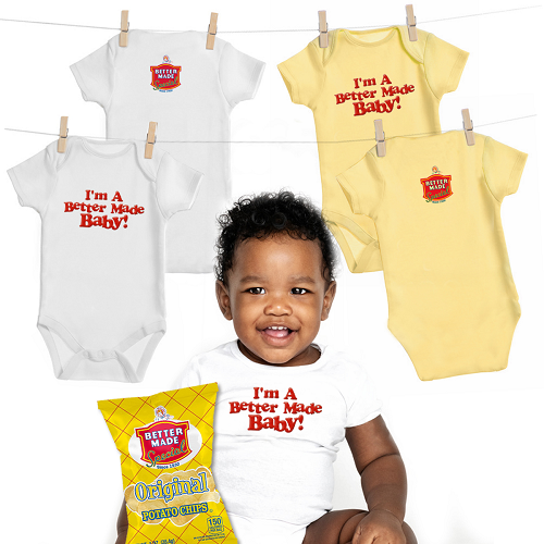BETTER MADE BABY-SIZED SHIRTS
